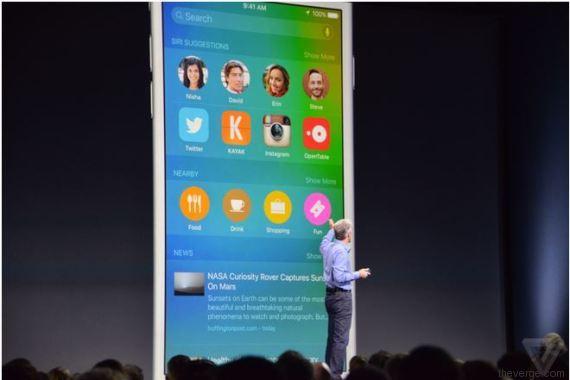 Apple - Menu raccourci