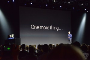 Conférence tenue par Apple le 8 Juin 2015